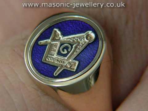 Gold Masonic ring DAJ118