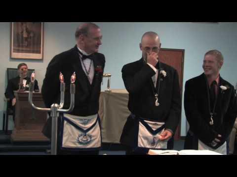 Inside the Masonic Lodge