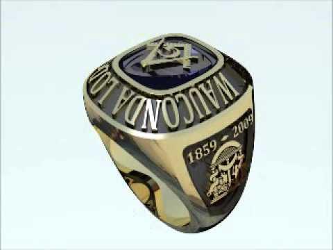 Masonic Ring Design 1