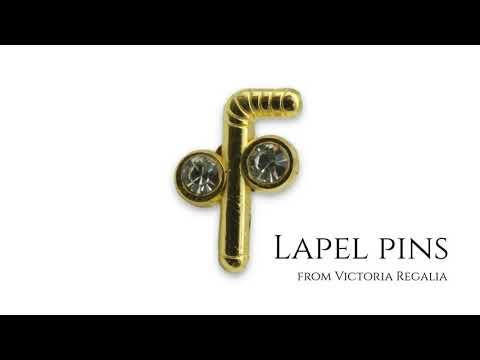 Masonic Tubal Cane Lapel Pin