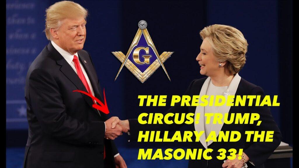 PRESIDENTIAL CIRCUS! TRUMP, HILLARY, & THE MASONIC 33!