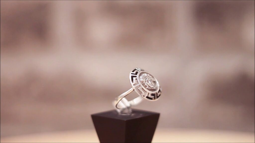 Silver Freemason Masonic Ring – Medusa Gorgon Ring video review