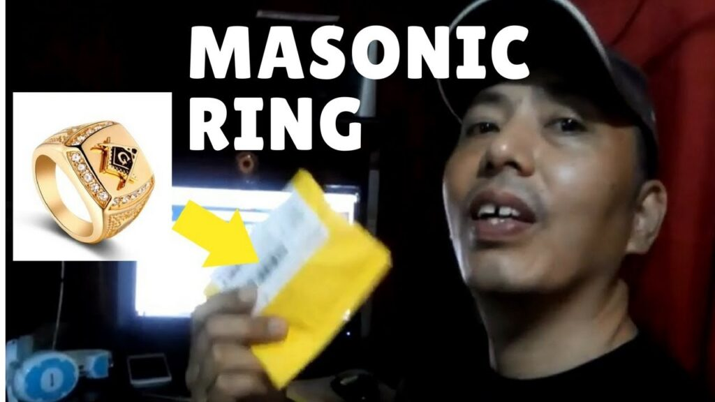 the masonic ring, Unboxing will make you consider buying one